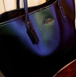Coach hologram tote limited edition
